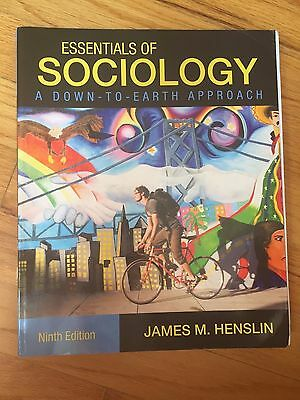 Essentials of Sociology by James M. Henslin (2014, Paperback, 9th Edition)