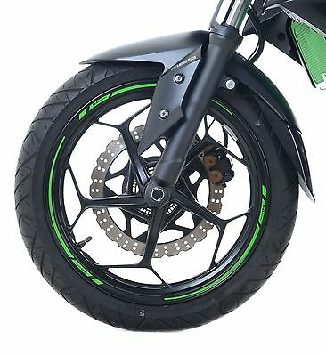 "GREEN Motorcycle Rim Tape for 17"" Wheels Yamaha WR125 X 2015 R&G Racing"