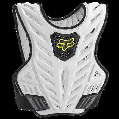 FOX RACING Titan Sport Subframe ADULT MENS ATV CHEST PROTECTOR L/XL Black/Silver