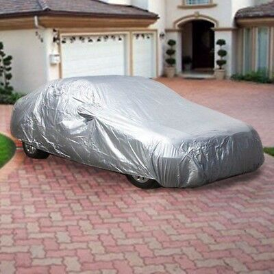 XL Large Full Size Car Cover Water Dust UV Dirt Proof PCS3S