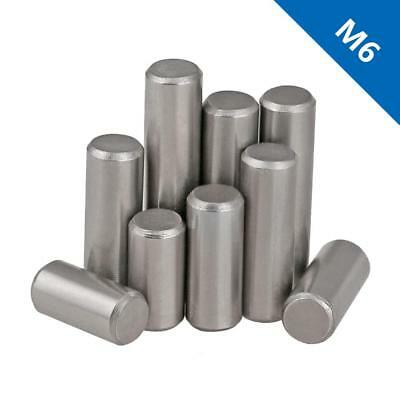 M6 Bearing steel Parallel Pins Dowel Pins Cylindrical Pins Position Pins DIN7