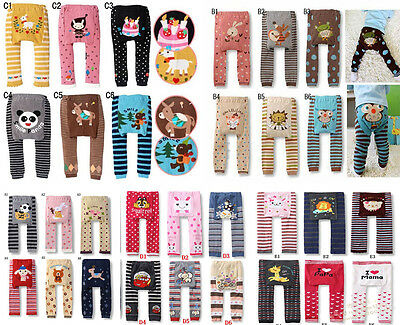Cute Baby Toddler Boy Girl Cotton Animal Leggings PP Pants 63 Style
