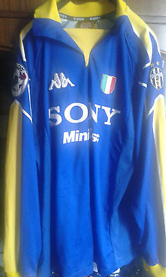 ZALAYETA JUVENTUS FC Match worn football shirt camiseta futbol Calcio Maglia