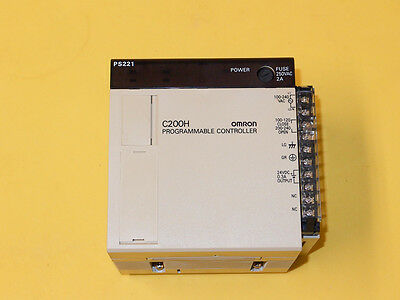 Omron C200H-PS221 PLC Power Supply USED, GOOD CONDITION