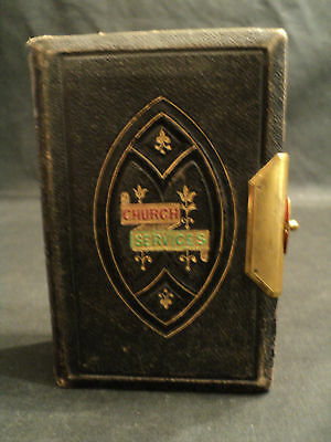 NICE 19th C. ANTIQUE MINIATURE BOOK OF COMMON PRAYERS