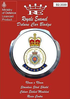 B2.3279 Royale Classic Modern Car Grill Badge Fittings ROYAL PIONEER CORPS