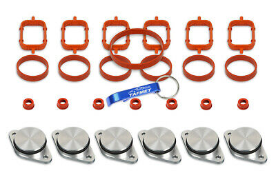 6 x 32 33 mm Swirl Flap Backup Ring Removal Blanks Bungs Gaskets for BMW M57