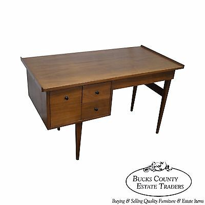American of Martinsville Mid Century Modern Walnut Writing Desk