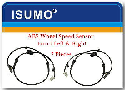 Set of 2 ABS Wheel Speed Sensor Front Left & Right Fits: Nissan Quest 2006-2009