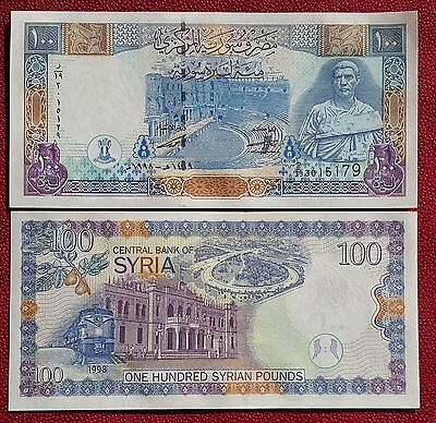 SYRIA 100 Pounds 1998 UNC P.108