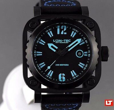 ✅ Lum-Tec Diver G6 New + Gift Mens Watch Authorized Dealer Free Fast Us Shipping