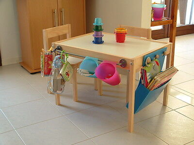 Children Toddler Baby Play Table with 2 Chairs Set