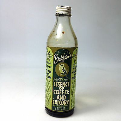 Vintage BLACKFORD'S ESSENCE of COFFEE and CHICORY BOTTLE