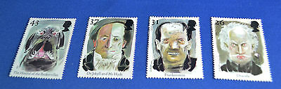 1997 Uk Stamp Set * Legends Of Horror * Mint Condition
