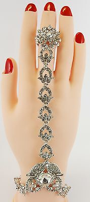 Hand Bracelet Hand Panja Hand Chain Bracelet bollywood Indian Jewellery ( Left/r