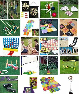 Family Party In/outdoor Games Summer Bbq New Garden Lawn Fun Small & Giant