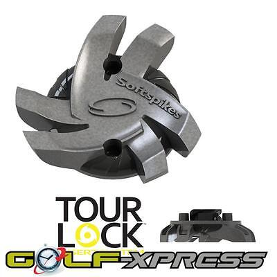 SoftSpikes Silver Tornado Tour Lock Golf Cleats