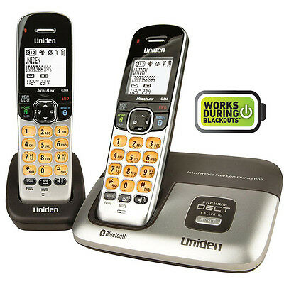 Uniden Premium DECT Digital Cordless Phone System with Integrated Bluetooth Tech