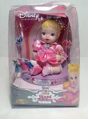 Disney 2006 Aurora Porcelain Royal Nursery Doll Brass Key Sleeping Beauty