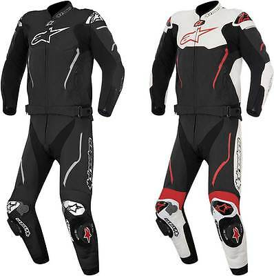 2016 Alpinestars Atem 2 Piece Leather Suit - Street Bike Riding Racing Two PC