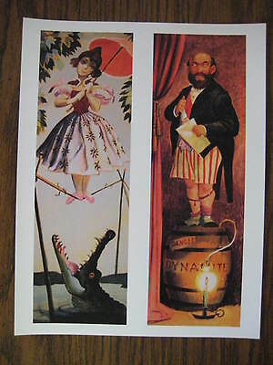 """Disney Haunted Mansion stretching room 8.5"""" x 11"""" Poster Part 1 & 2"""