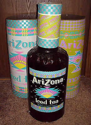 Original Mint Sealed In Package 3 1993 Arizona Iced Tea Blow-Ups Inflatables