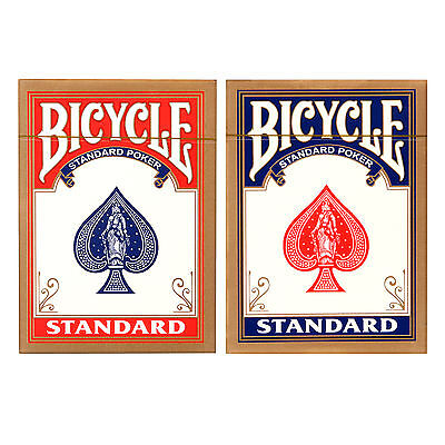 1 X Bicycle Standard Rider Back Poker Casino Playing Cards Color Random
