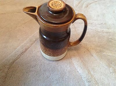 Vintage Retro Coffee Pot By Lord Nelson. Brown & Biege.