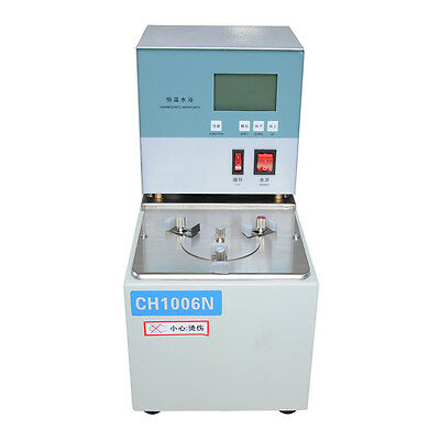 SHOC 240V Viscometer Temperature Thermostat Circulator Oil Bath Room 6L ~100℃
