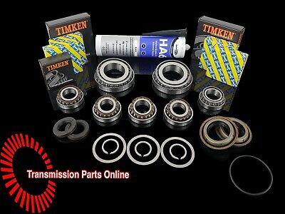 M32 / M20 Uprated 6 Speed Gearbox Rebuild Kit 7 Bearings 4 Seals 3 Circlips