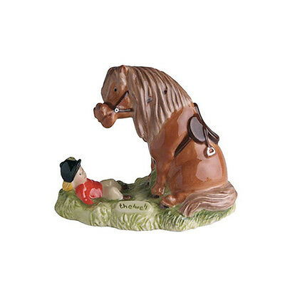 "John Beswick Thelwell Horse Figure "" Talk To Your Pony"" 1984"
