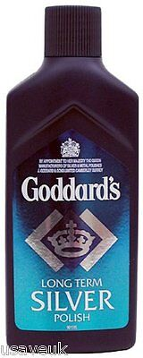 6 Pack Goddards Long Term Silver Polish Cleaner Liquid 125Ml