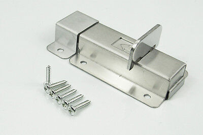 Toilet Shed Door Lock/Catch/Latch Shed Lock Small/Med/Large Slide Bolt Bathroom