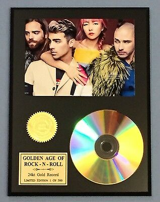 DNCE- 24k Gold CD Display Rare Limited Edition - Free Shipping In The USA