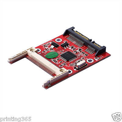CF Compact Flash Type I/II To  SATA Connector Serial DMA Card Adapter
