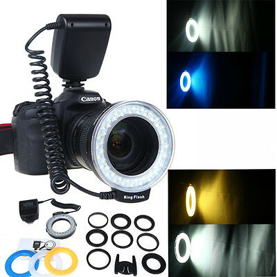 Travor RF-550D LED Macro Ring Flash Light for Nikon Canon Olympus DSLR Camera