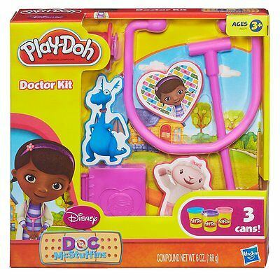 NEW Play-Doh Doc McStuffins Doctor Kit Playset Modelling Compound Create Dough