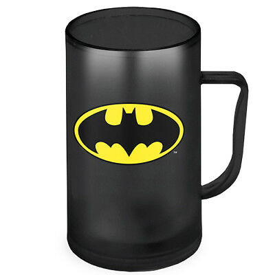 Batman handle Ezy Freeze Mug Cup Stein DC Comics Fathers Day Christmas Gift