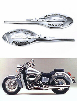 Gas Tank Emblem Badge Decal for Honda Shadow VT VTX 600 750 1100 ACE ABS Plastic