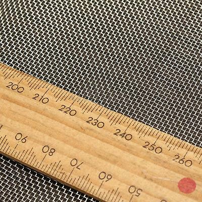 304 Stainless Steel 20 Mesh Water Oil Industrial Filtration Woven Wire 30x30cm