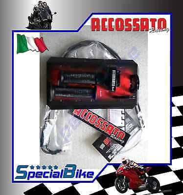 Kit Comando Gas Rapido Suzuki Gsxr 750 2006 > 2010 Accossato Ergal
