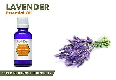 Lavender Essential Oil 100% Pure Natural PREMIUM Therapeutic Grade Oils