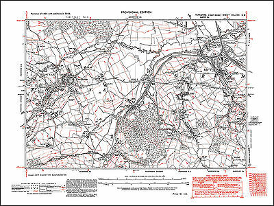 Barugh, Cawthorne, old map Yorkshire 1938: 274NW repro