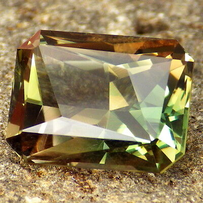 GREEN ORANGE OREGON SUNSTONE 8.37Ct FLAWLESS-INCREDIBLE COLOR-TOP INVESTMENT!