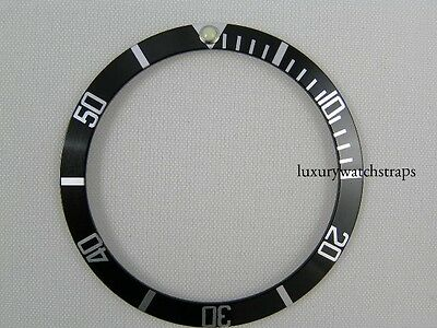 Brand New Aluminium Black Bezel Insert For Rolex Submariner Watch 16610