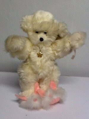 "Preowned! Annette Funicello's Dream Keeper"" Plush Bear"