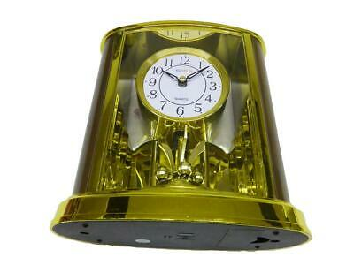MANTLE CLOCK WITH PENDULUM - LOUNGE CARRIAGE CLOCK bedroom hall dining