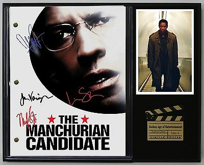 The Manchurian Candidate Reprint Autograph Movie Script Display - USA Ships Free