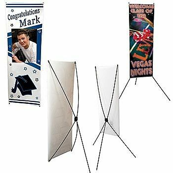 3 X 5 Banner with stand
