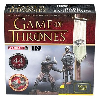 McFarlane Toys Game of Thrones Building Set - Stark Banner Pack